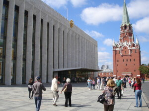 The ballet building in the Moscow Kremlin