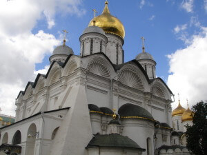 A cathedral of the Moscow Kremlin
