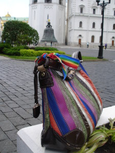 A bag in the Moscow Kremlin