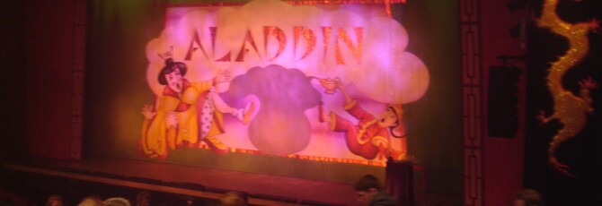 Aladdin at Stevenage