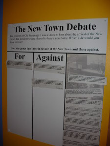 New town debate at Stevenage Museum
