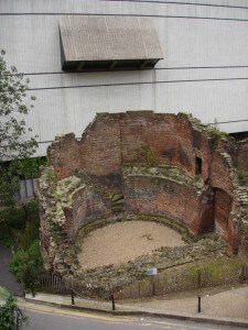 The London Wall at the Museum of London