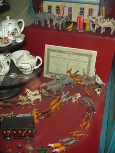 Victorian toy shop at the Museum of London